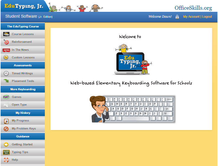 Online Keyboarding Classes for Kids and Teens