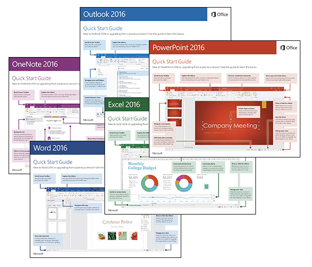 free office 2016 quick start guides for windows mac and mobile rh officeskills org outlook for mac quick start guide skype for business mac quick start guide