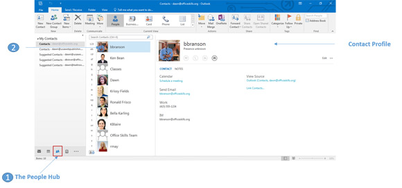 how to see more sent emails in outlook 2016