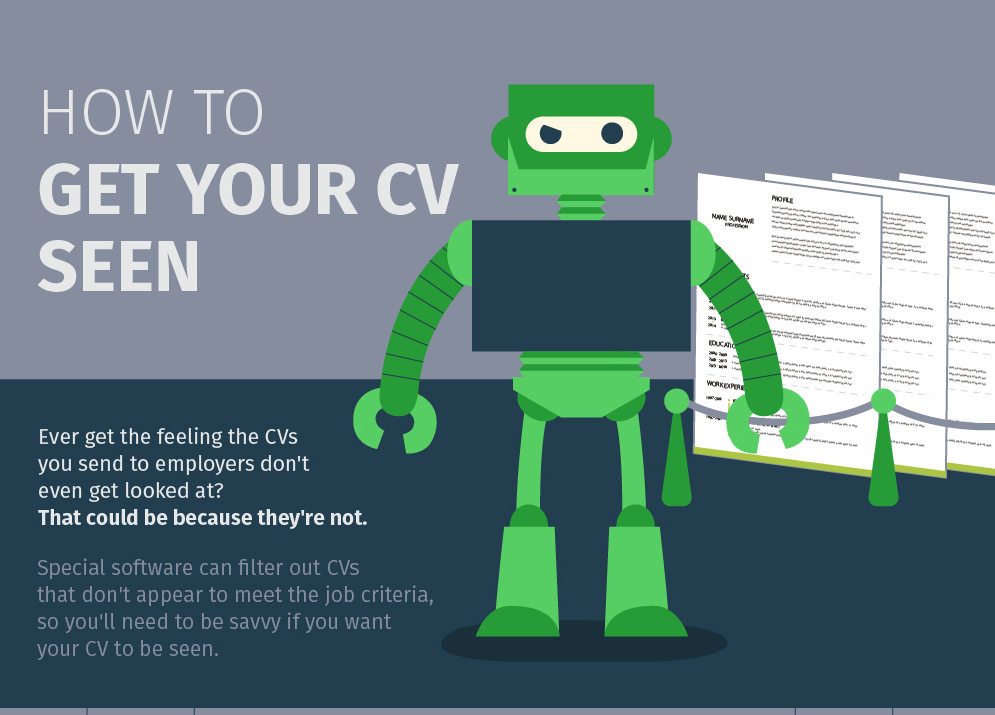 how to get your resume cv seen by recruiters office skills blog