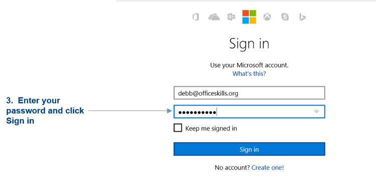how to change onedrive password
