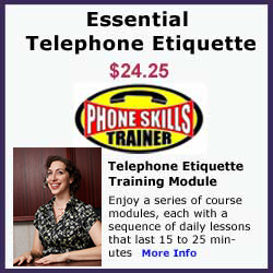 Essential Telephone Etiquette Online Course