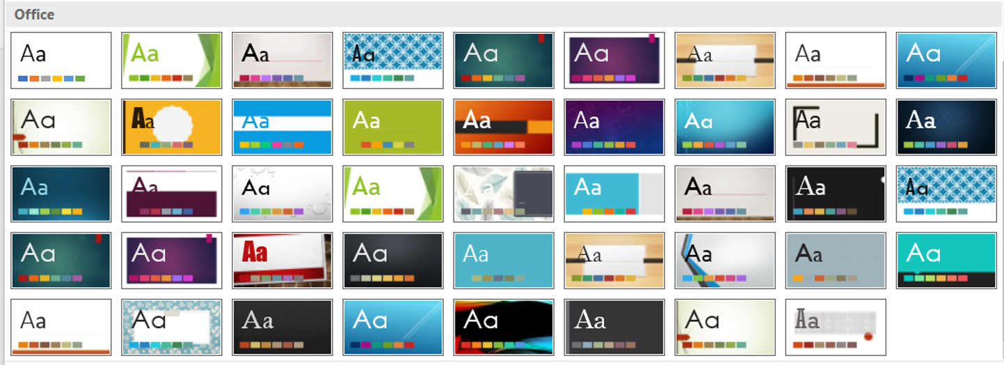 how to add themes to powerpoint