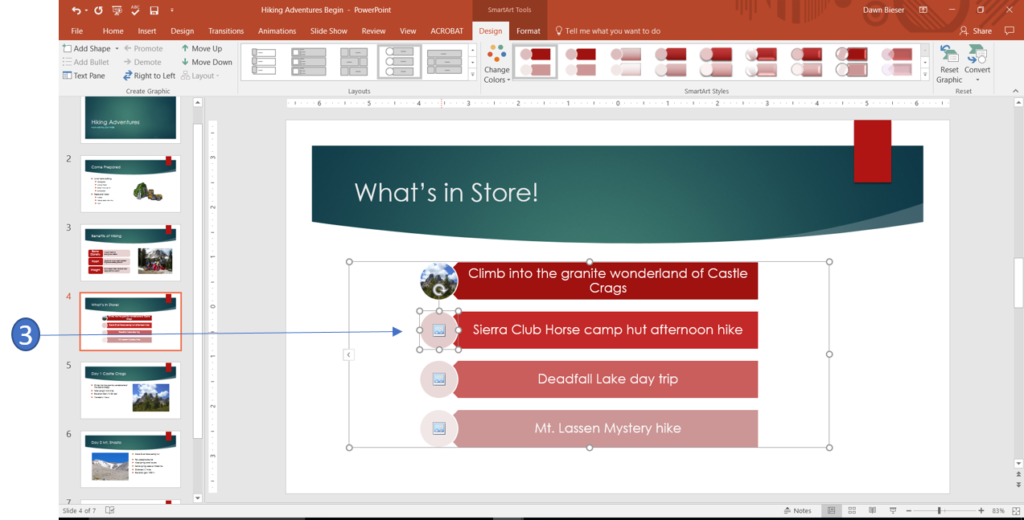 Add a picture to a SmartArt graphic in PowerPoint