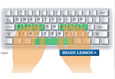 learntyping org lesson