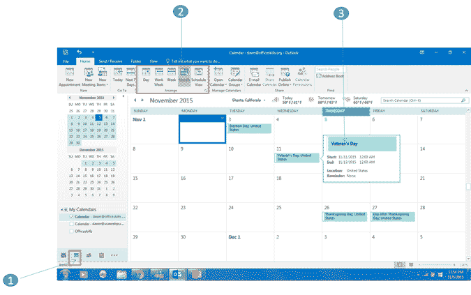 calendar view in outlook 2016 now lets schedule an appointment