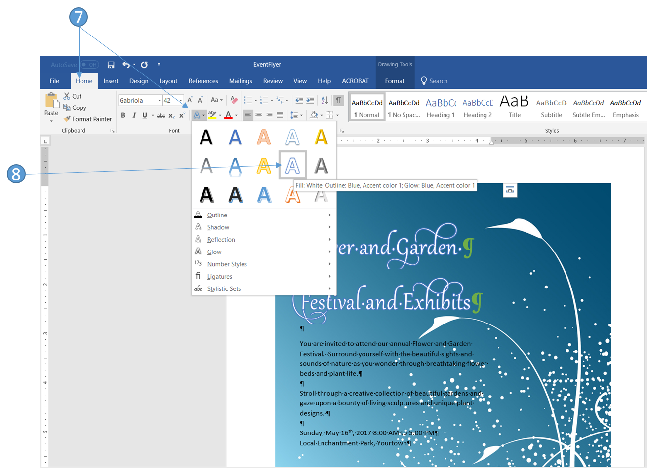how to change text direction in word 2016