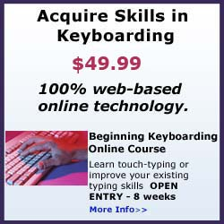 Keyboarding Online Course